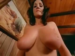 VINTAGE POV HUGE NATURAL BOOBS RIDING..
