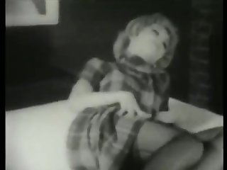 1950's Striptease Stag Film