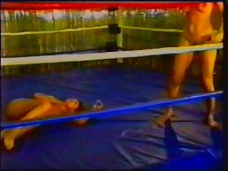 Vintage Wrestling Beat Down