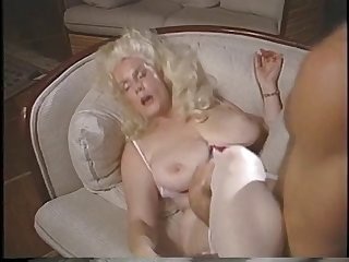 Mature lady gets guy to lick and suck on..