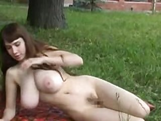 Yulia Nova nude outdoors