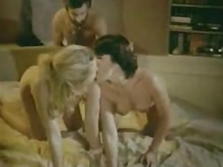 Vintage threesome Dominique Saint Claire