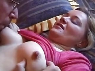 Homemade retro sextape of amateur riding..