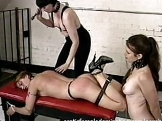 Dominant Shemale Hurts Her Slave Really..