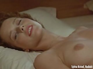 Sylvia Kristel - Nude scene from Goodbye..