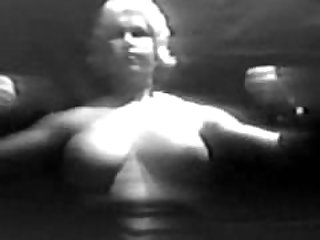 Old Time Naked Strong Woman pecs and..
