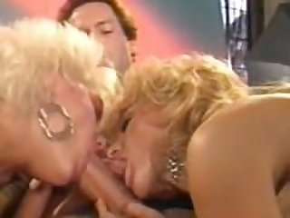 Jeanna Fine and Nina Hartley 3way