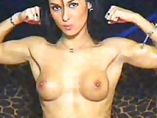 And Another Nice Webcam Girl Flexing