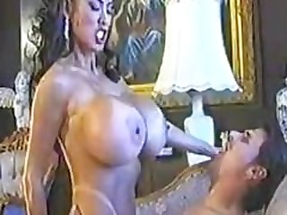 Big Titted Asian Minka Has Her Moist..