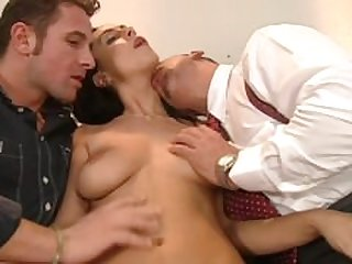 Private: Mercedes & Gina Blond gets DP'd