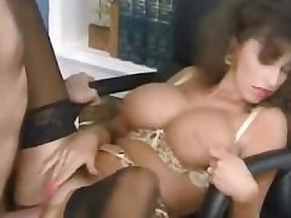 Sarah Young fucked to orgasm by Peter..