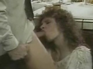 Vintage kitchen Blowjob