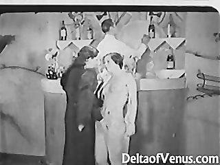 Antique Porn 1930s - FFM Threesome -..