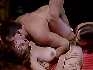 Christy Canyon in Nice MMF with TT Boy..