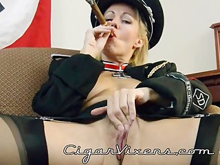 MoRina SMOKES a cigar