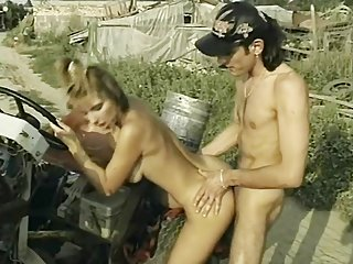 Sexy Farm Chick With Nice Bod