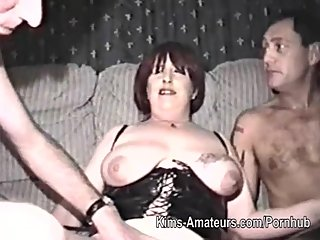 Homemade film with mature woman and..