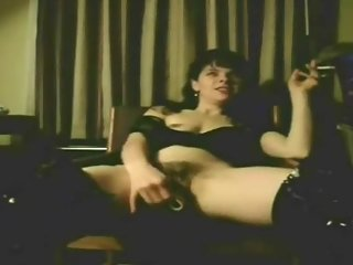 Hot Slut Wife Smokes While Fucking Her..