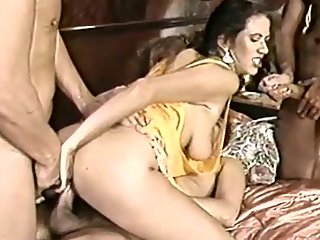 Elle Rio Takes On 3 Cocks In Sizzling Dp..