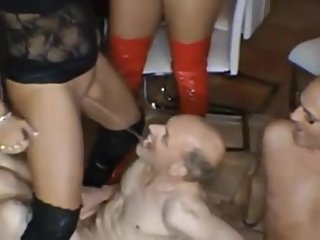 Girls Pissing On Guys - 4