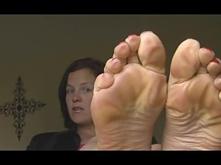 Vintage Annabelle Flowers, Foot Seduction