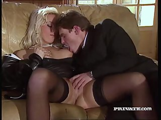Silvia Saint Fucks the Lawyer and Drains..