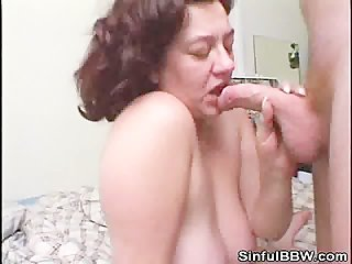 Cock Sucking BBW Fucked Doggystyle
