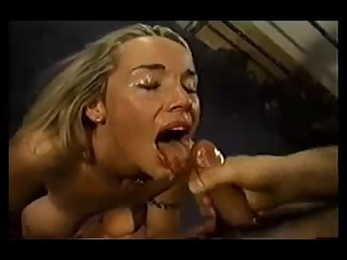 Vintage Cum Facials Compilation from 2001