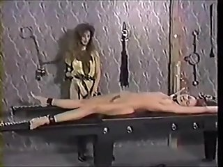 Vintage naked tickle torture