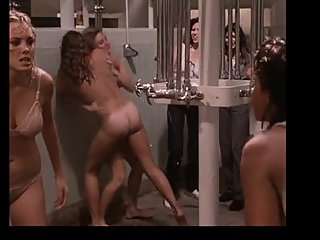 Classic Catfights-Nude Shower Fight