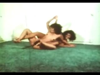 Classic Catfights-Nude Wrestling Matches..