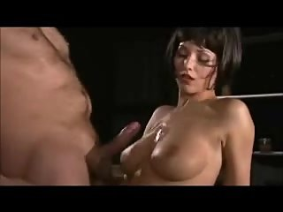 Handsfree Male on Female Cumshot..