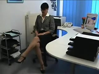 Stockings at the Office