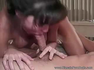 Vintage MILF Trains Young Cock
