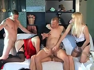 Bisexuelle! A Two Girl, Three Guy French..
