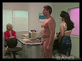 Hank Armstrong with 2 dominant chicks in..
