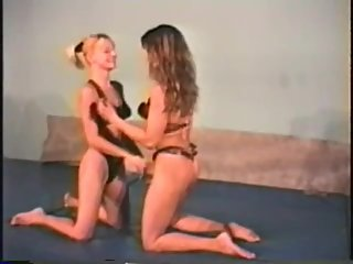 Vintage Competitive Female Wrestling 1