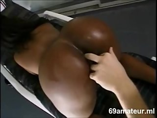 EBONY SEXY GIRL FUCK WHITE DICK