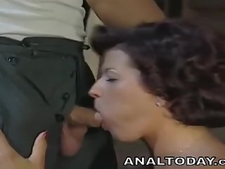 Sexy Vintage Mom Fucked In The Ass
