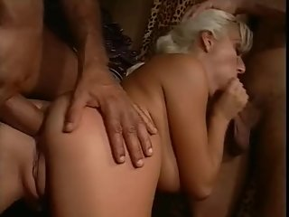 Elisabeth Swiss Threesome Scene: