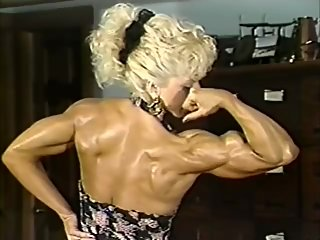 oldschool muscle girl