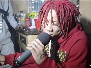 Trippie Redd's most awkward interview of..