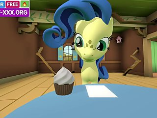 Pony love story in real 3d porn game