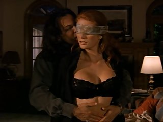 Celebrity Angie Everhart gets kinky in..